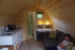thumb hare lodge internal view - Glamping North East