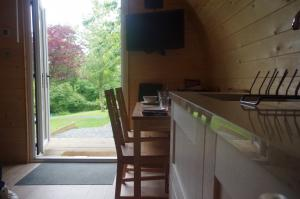 thumb hare view from the kitchen - Glamping North East