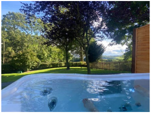 hot tub - Glamping North East